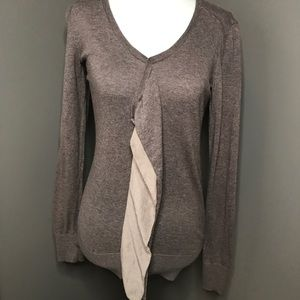 ann taylor loft v neck sweater
